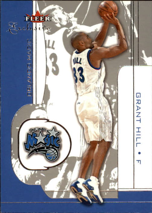 2001-02 Fleer Exclusive #50 Grant Hill