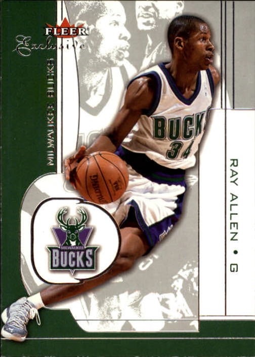 2001-02 Fleer Exclusive #52 Ray Allen