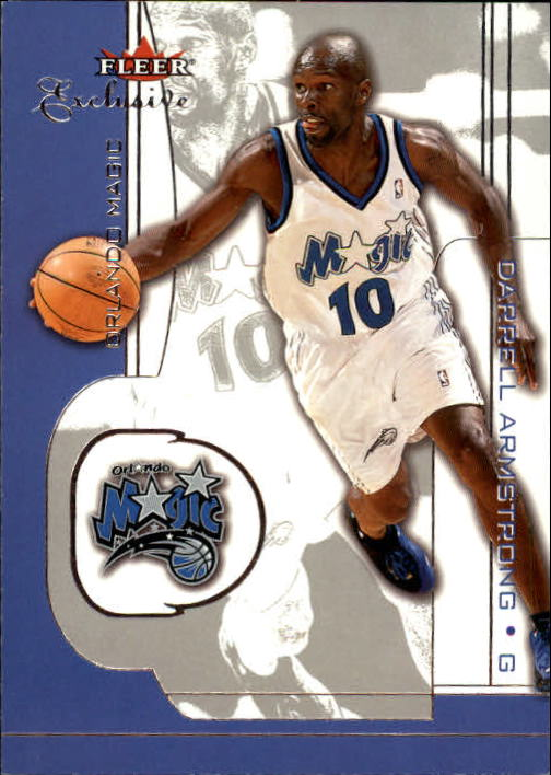 2001-02 Fleer Exclusive #60 Darrell Armstrong