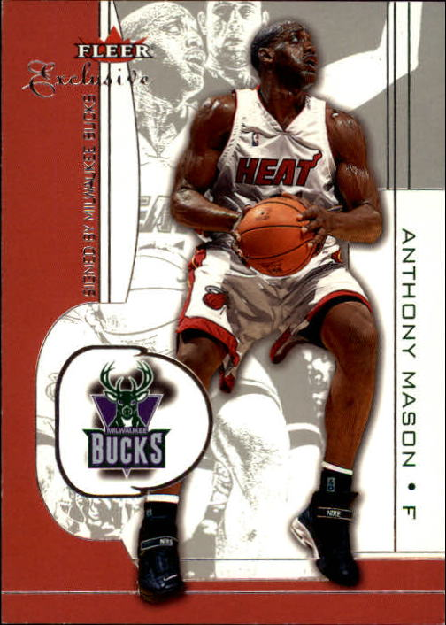 2001-02 Fleer Exclusive #62 Anthony Mason