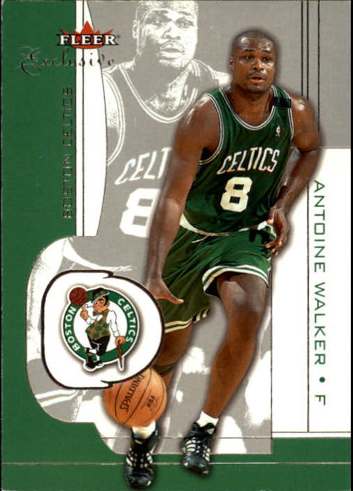 2001-02 Fleer Exclusive #67 Antoine Walker