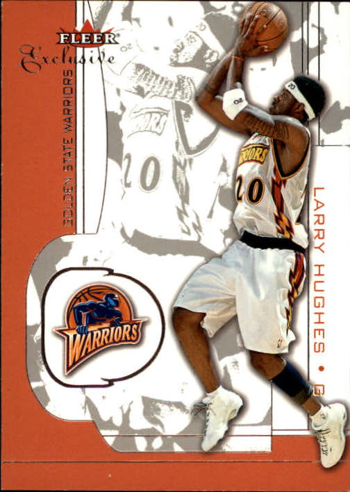 2001-02 Fleer Exclusive #72 Larry Hughes