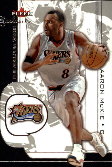 2001-02 Fleer Exclusive #76 Aaron McKie