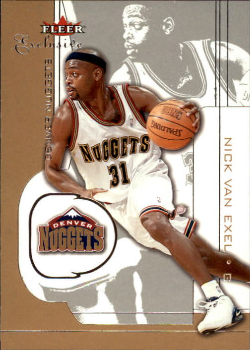 2001-02 Fleer Exclusive #85 Nick Van Exel