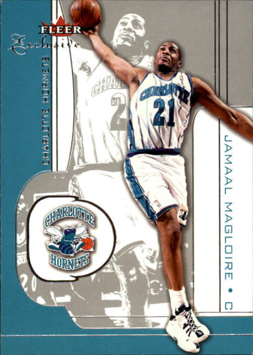 2001-02 Fleer Exclusive #87 Jamaal Magloire