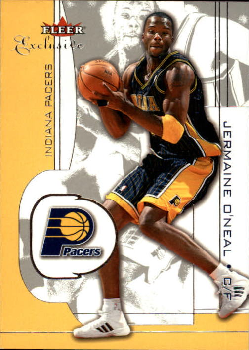 2001-02 Fleer Exclusive #88 Jermaine O'Neal