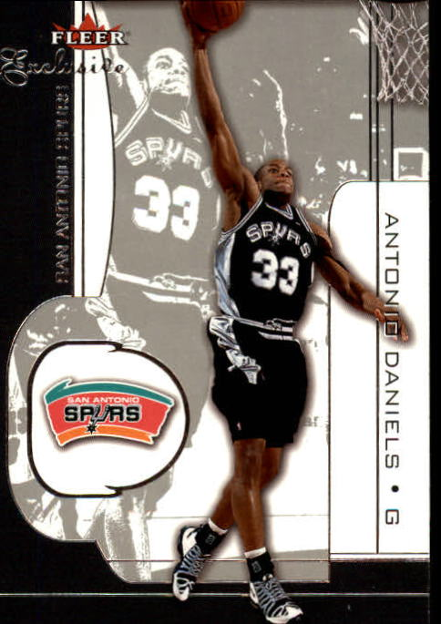 2001-02 Fleer Exclusive #93 Antonio Daniels