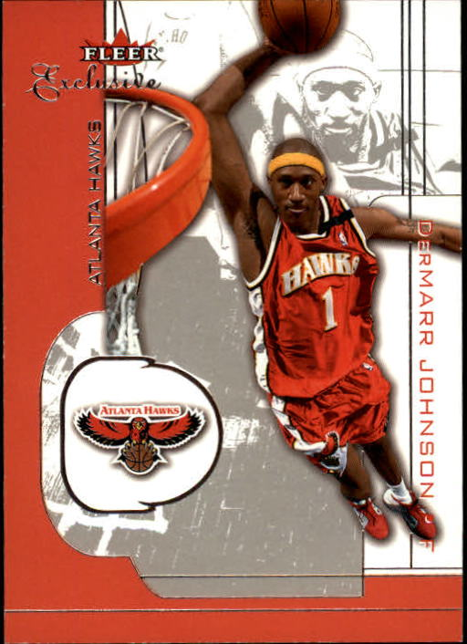 2001-02 Fleer Exclusive #94 DerMarr Johnson