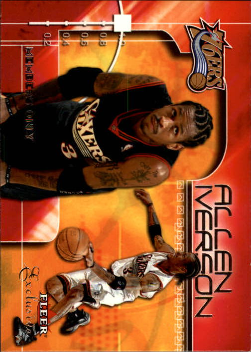 2001-02 Fleer Exclusive #101 Allen Iverson MO