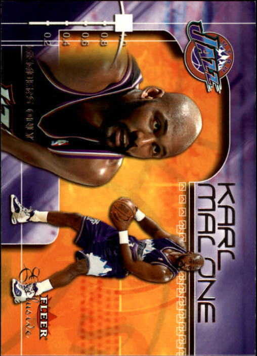 2001-02 Fleer Exclusive #108 Karl Malone MO