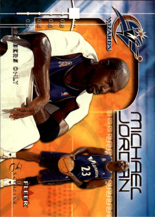 2001-02 Fleer Exclusive #109 Michael Jordan MO