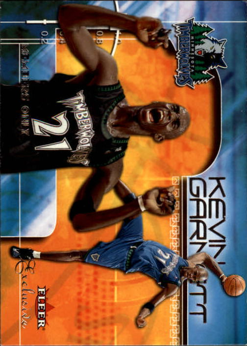 2001-02 Fleer Exclusive #119 Kevin Garnett MO