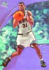 2001-02 E-X #118 Shane Battier/750 RC
