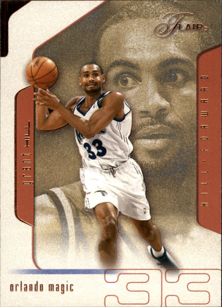 2001-02 Flair #33 Grant Hill