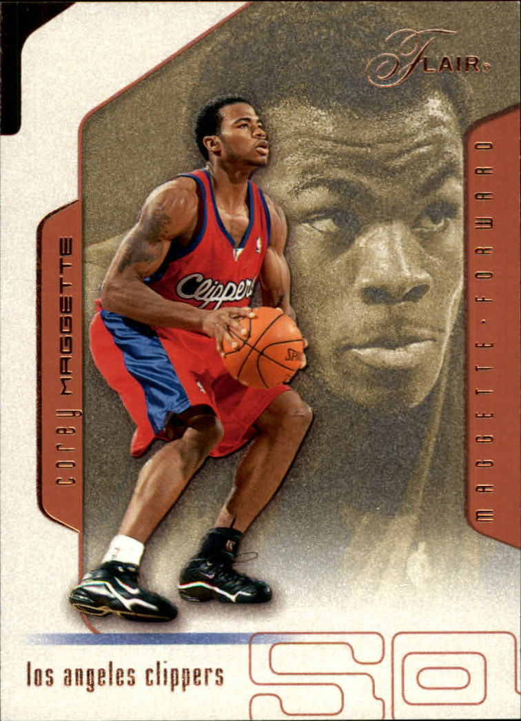 2001-02 Flair #46 Corey Maggette