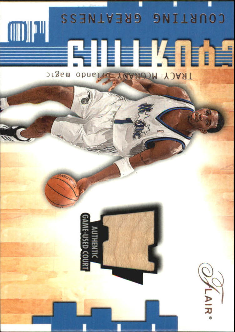 2001-02 Flair Courting Greatness #4 Tracy McGrady