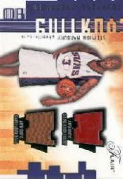 2001-02 Flair Courting Greatness Ball and Court #16 Stephon Marbury