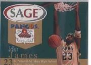 2002 SAGE Pangos #1 LeBron James