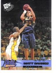 2002 Press Pass #1 Matt Barnes