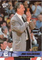 2002 Press Pass #35 Jim Calhoun CO