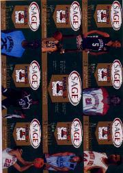 2002 SAGE Pangos Sheets #1 Sheet 1/D.J. Strawberry/Sebastian Telfair/Wesley Washington/DeMarcus Nelson/Header Card/Justin Hawkins/Omar Wilkes/LeBron James/Ekene Ibekwe