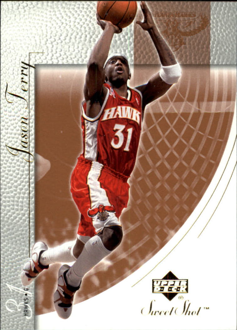 2002-03 Sweet Shot #2 Jason Terry