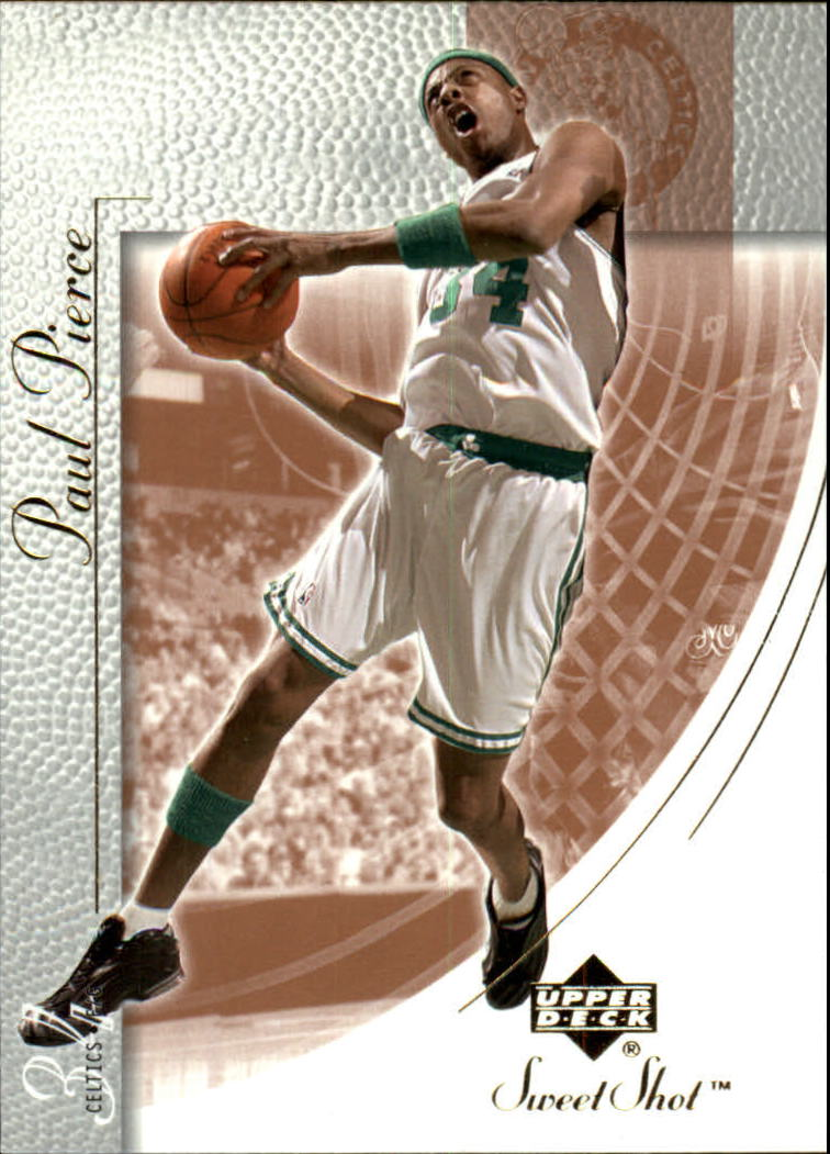 2002-03 Sweet Shot #4 Paul Pierce