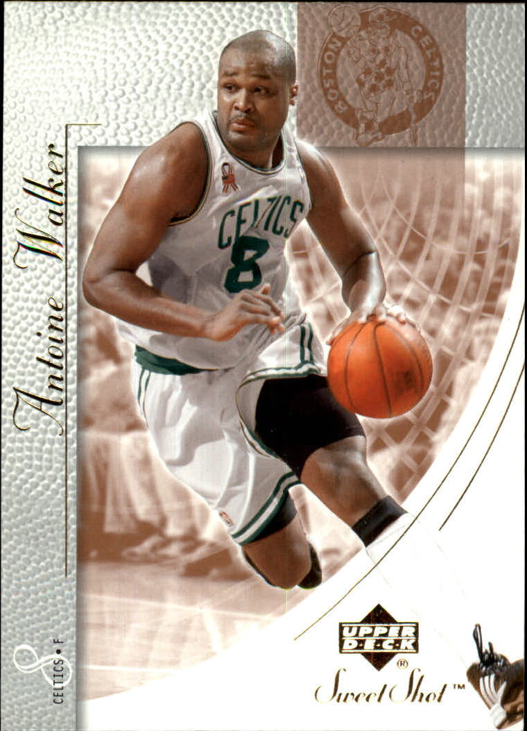 2002-03 Sweet Shot #5 Antoine Walker