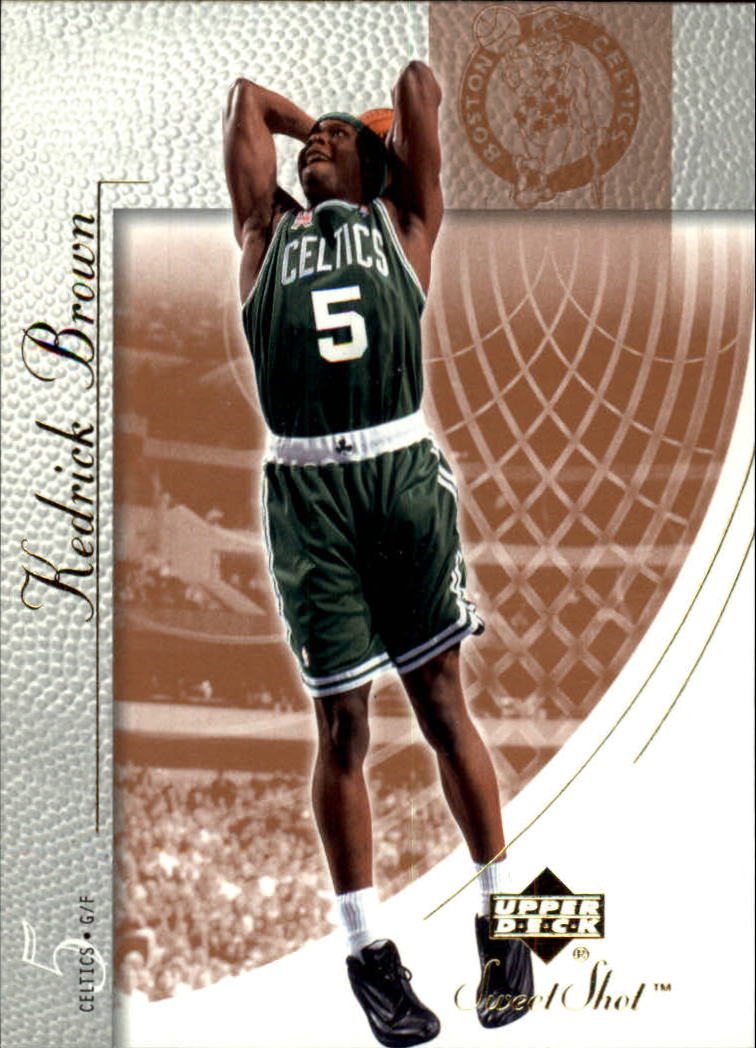2002-03 Sweet Shot #6 Kedrick Brown
