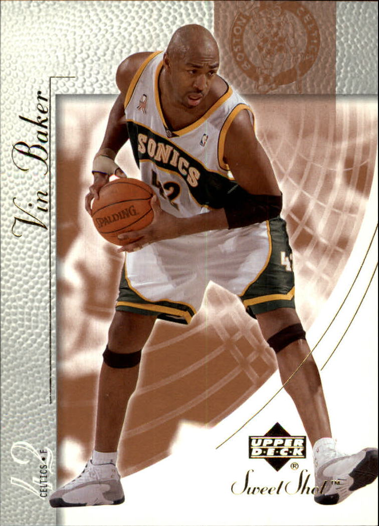 2002-03 Sweet Shot #7 Vin Baker