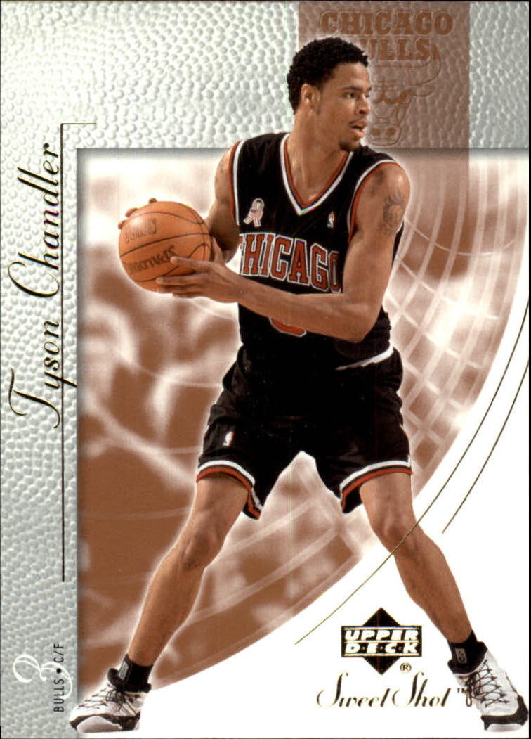 2002-03 Sweet Shot #10 Tyson Chandler