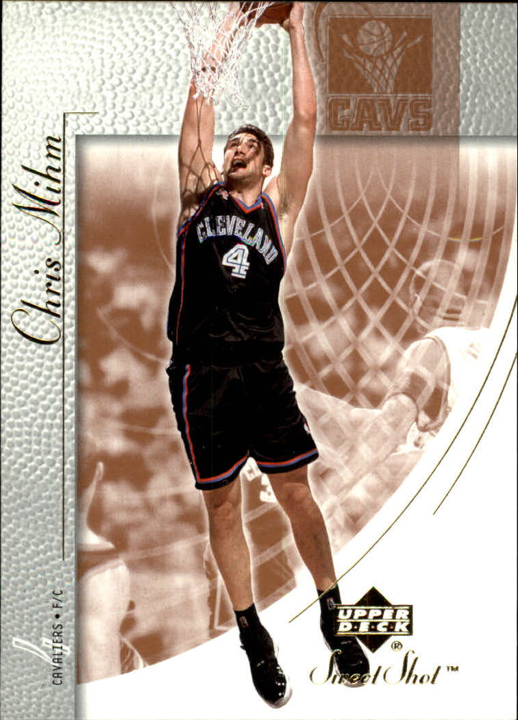 2002-03 Sweet Shot #12 Chris Mihm