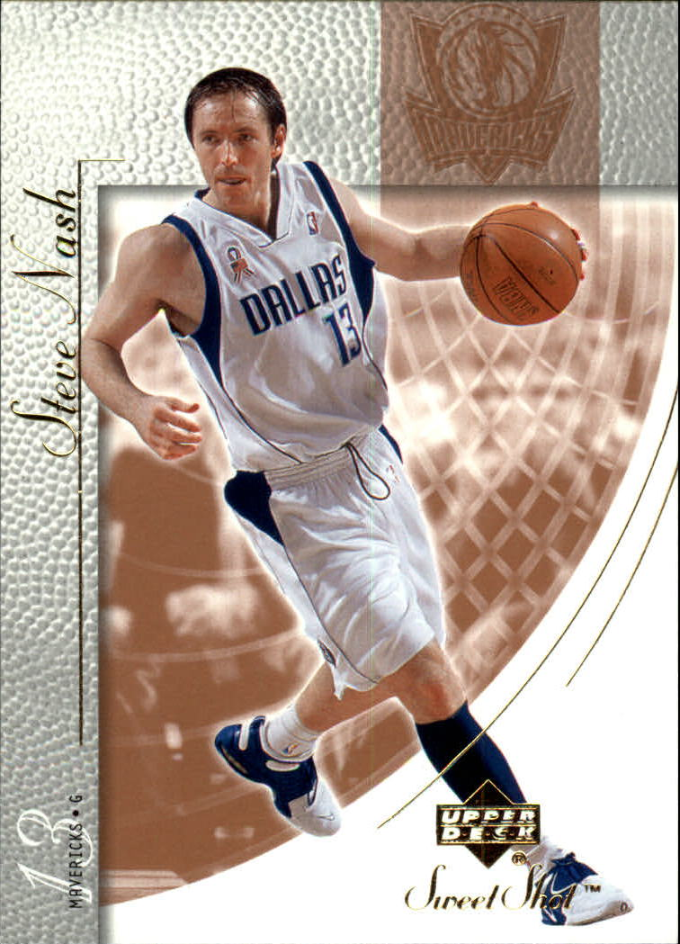 2002-03 Sweet Shot #16 Steve Nash
