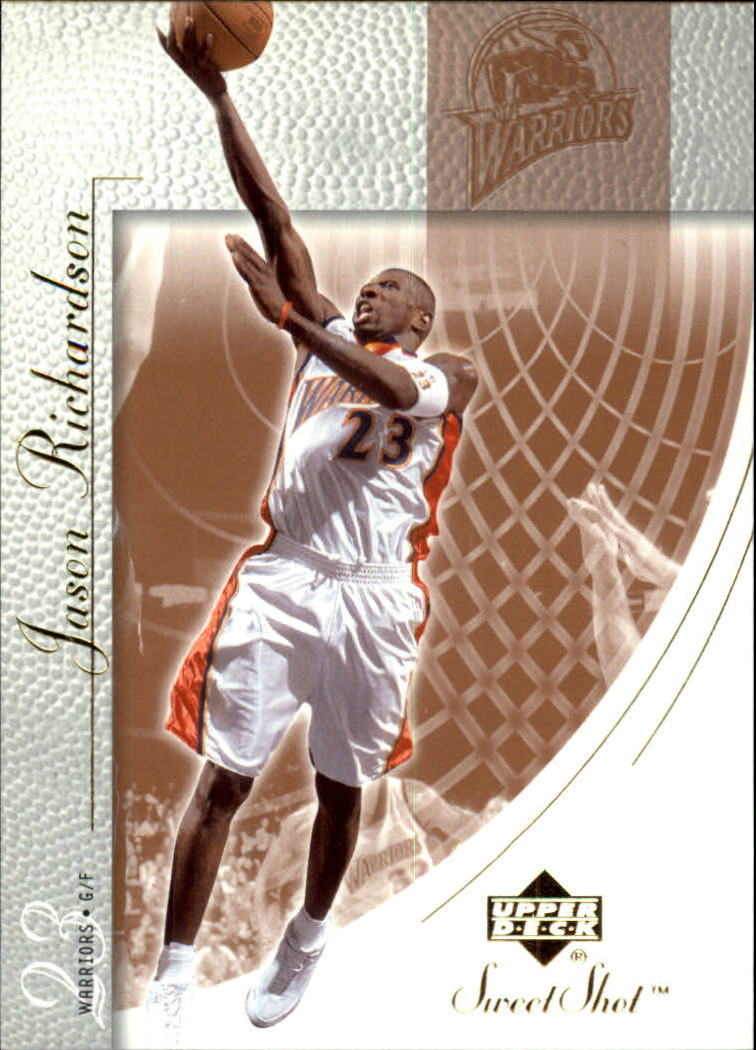 2002-03 Sweet Shot #23 Jason Richardson