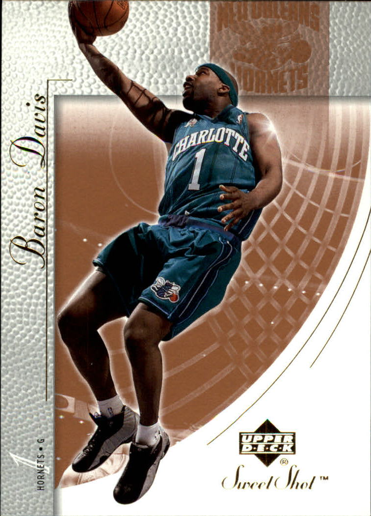 2002-03 Sweet Shot #54 Baron Davis