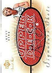 2002-03 Sweet Shot Signature Shots #LB Larry Bird