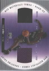 2002-03 Upper Deck MVP Materials Combo #1 Chris Webber