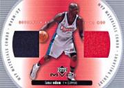 2002-03 Upper Deck MVP Materials Combo #4 Lamar Odom