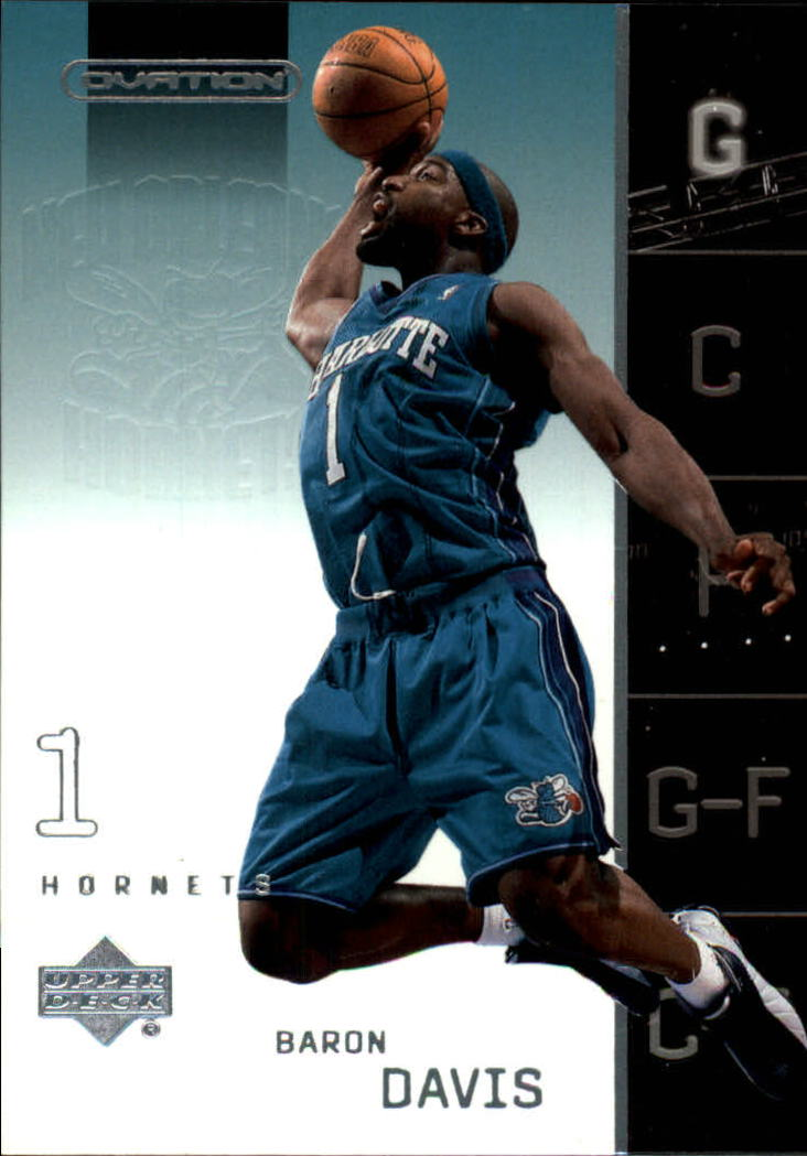 2002-03 Upper Deck Ovation #55 Baron Davis