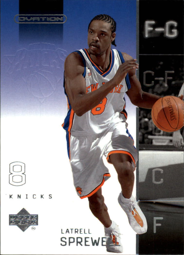 2002-03 Upper Deck Ovation #57 Latrell Sprewell
