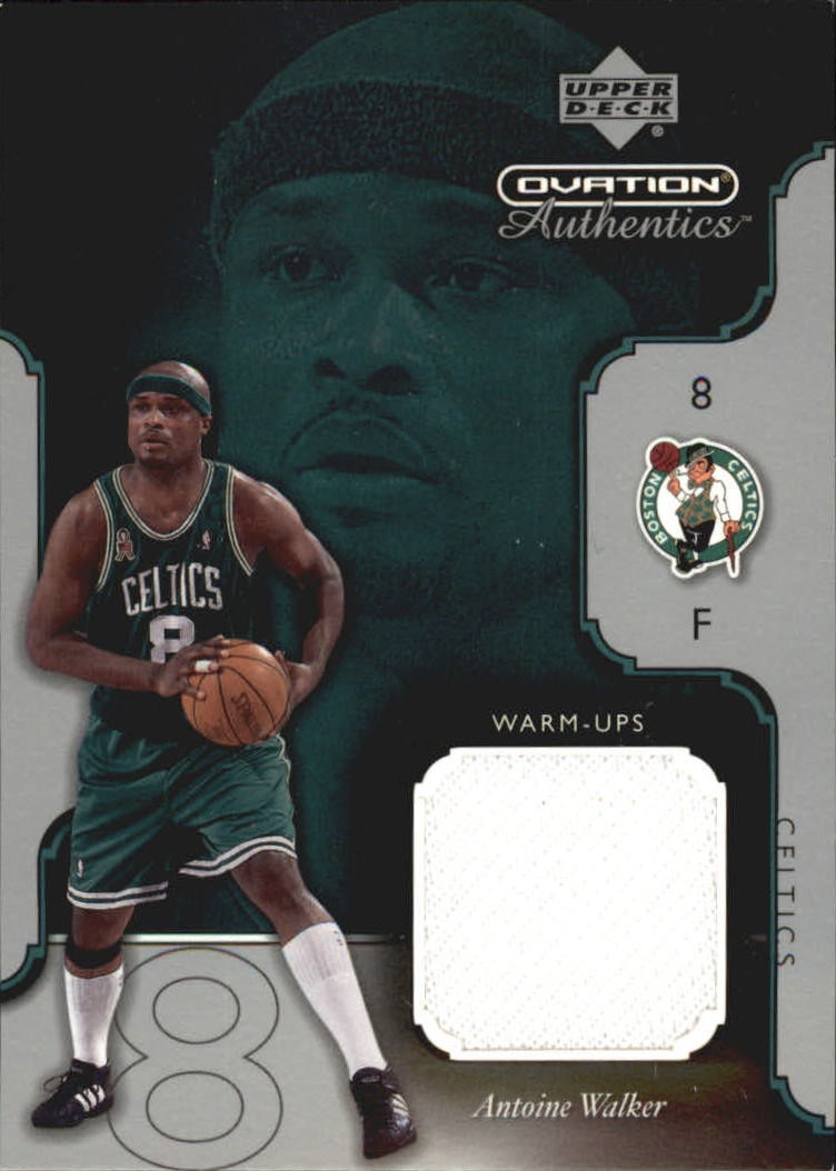 2002-03 Upper Deck Ovation Authentics Warm-Ups #AWW Antoine Walker