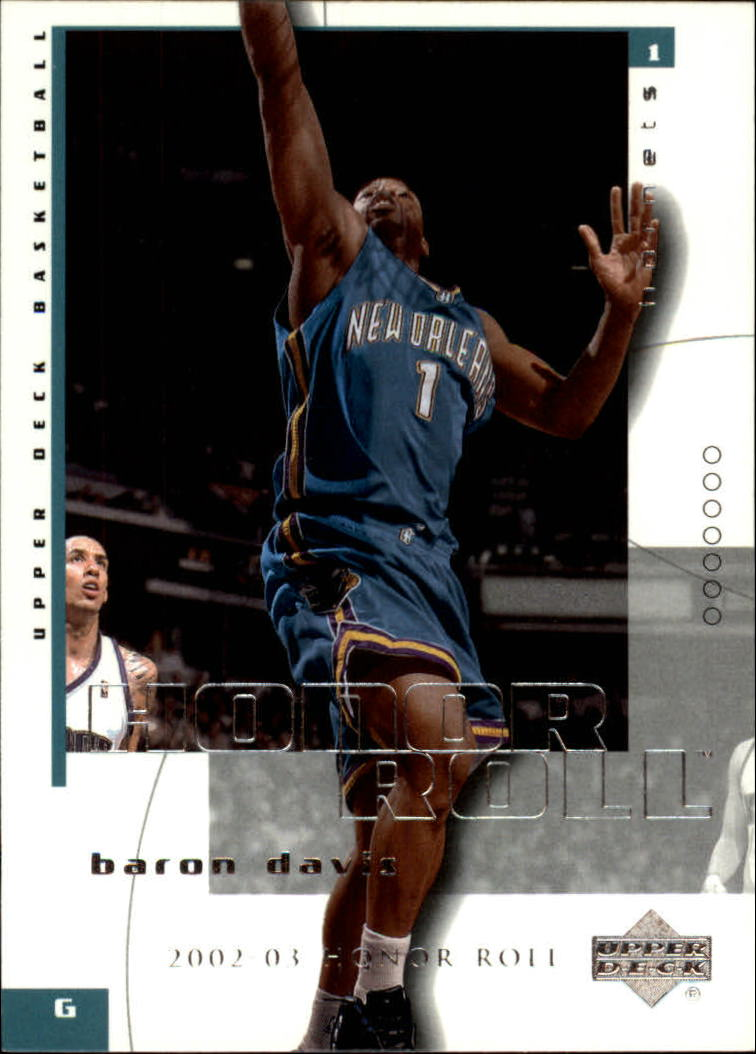 2002-03 Upper Deck Honor Roll #52 Baron Davis