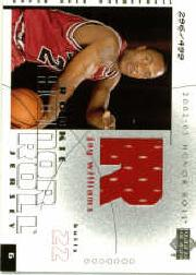 2002-03 Upper Deck Honor Roll #104 Jay Williams JSY RC