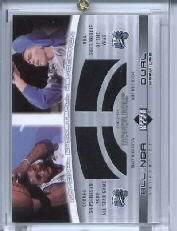 2002-03 Upper Deck Honor Roll Dual Warm-ups #TMMM Tracy McGrady/Mike Miller