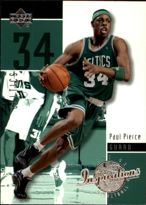 2002-03 Upper Deck Inspirations #4 Paul Pierce