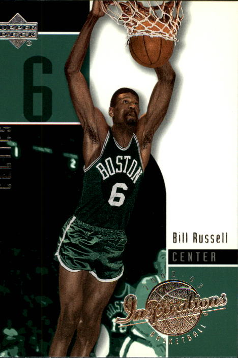 2002-03 Upper Deck Inspirations #6 Bill Russell front image