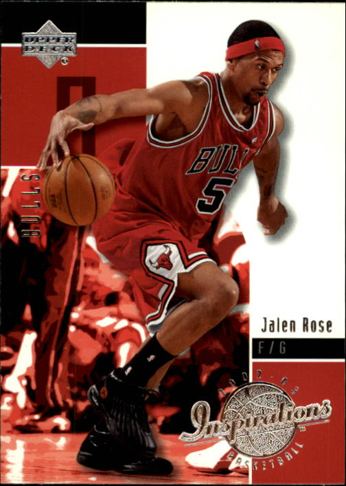 2002-03 Upper Deck Inspirations #8 Jalen Rose