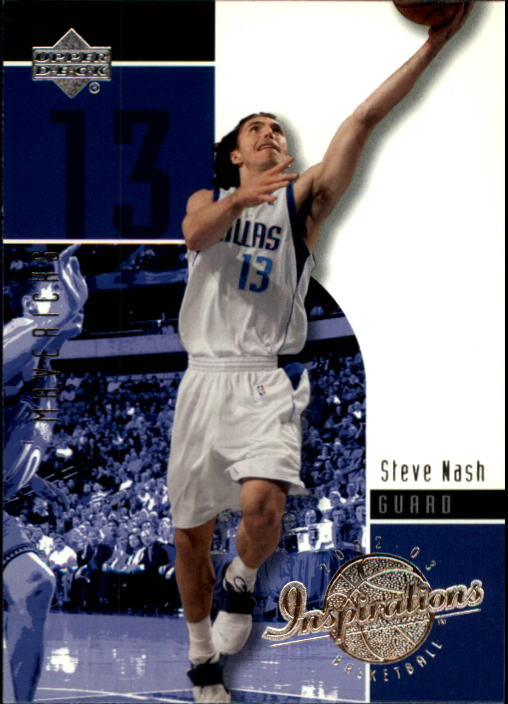 2002-03 Upper Deck Inspirations #16 Steve Nash