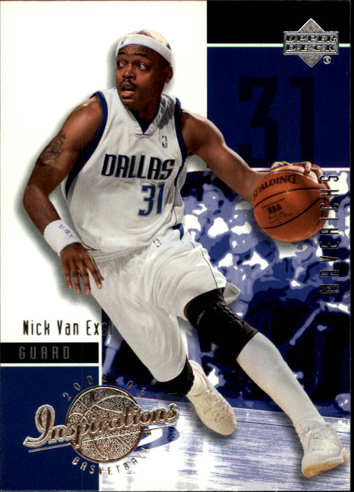 2002-03 Upper Deck Inspirations #17 Nick Van Exel