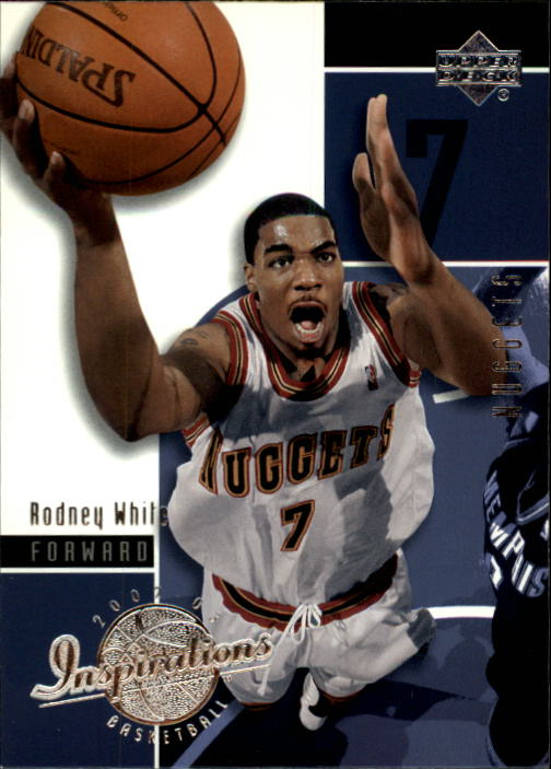 2002-03 Upper Deck Inspirations #18 Rodney White